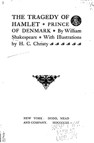 Download The Tragedy of Hamlet, Prince of Denmark