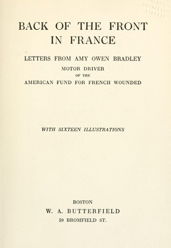 Download Back of the front in France
