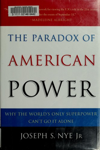 Download The  paradox of American power