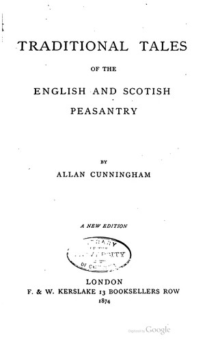 Download Traditional tales of the English and Scottish peasantry