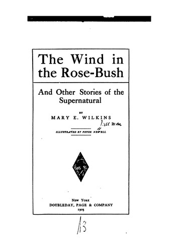 The Wind in the Rose-bush: And Other Stories of the Supernatural