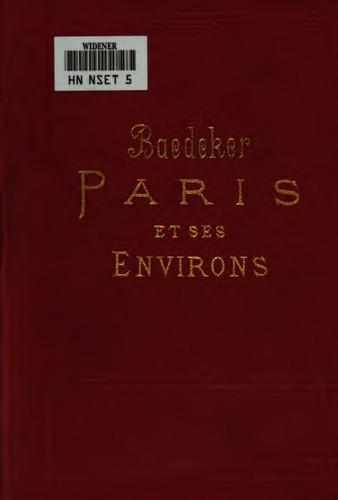 Paris et ses environs: manuel du voyageur