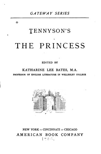 Download Tennyson's The Princess