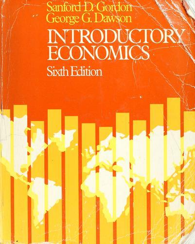 Introductory economics by Sanford D. Gordon