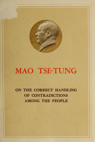 On the correct handling of contradictions among the people.