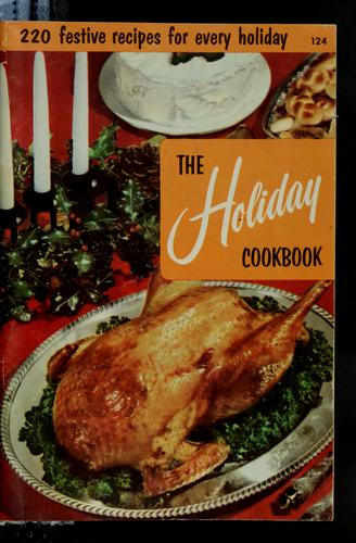 The holiday cookbook