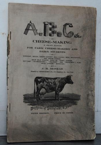 A B C in cheese-making.