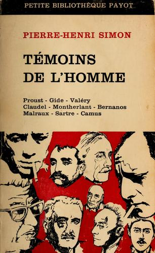 Download Témoins de l'homme