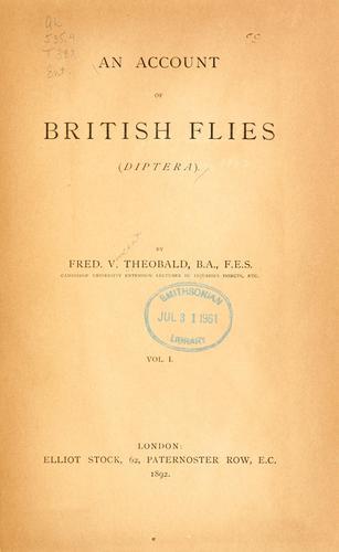 An account of British flies (Diptera).