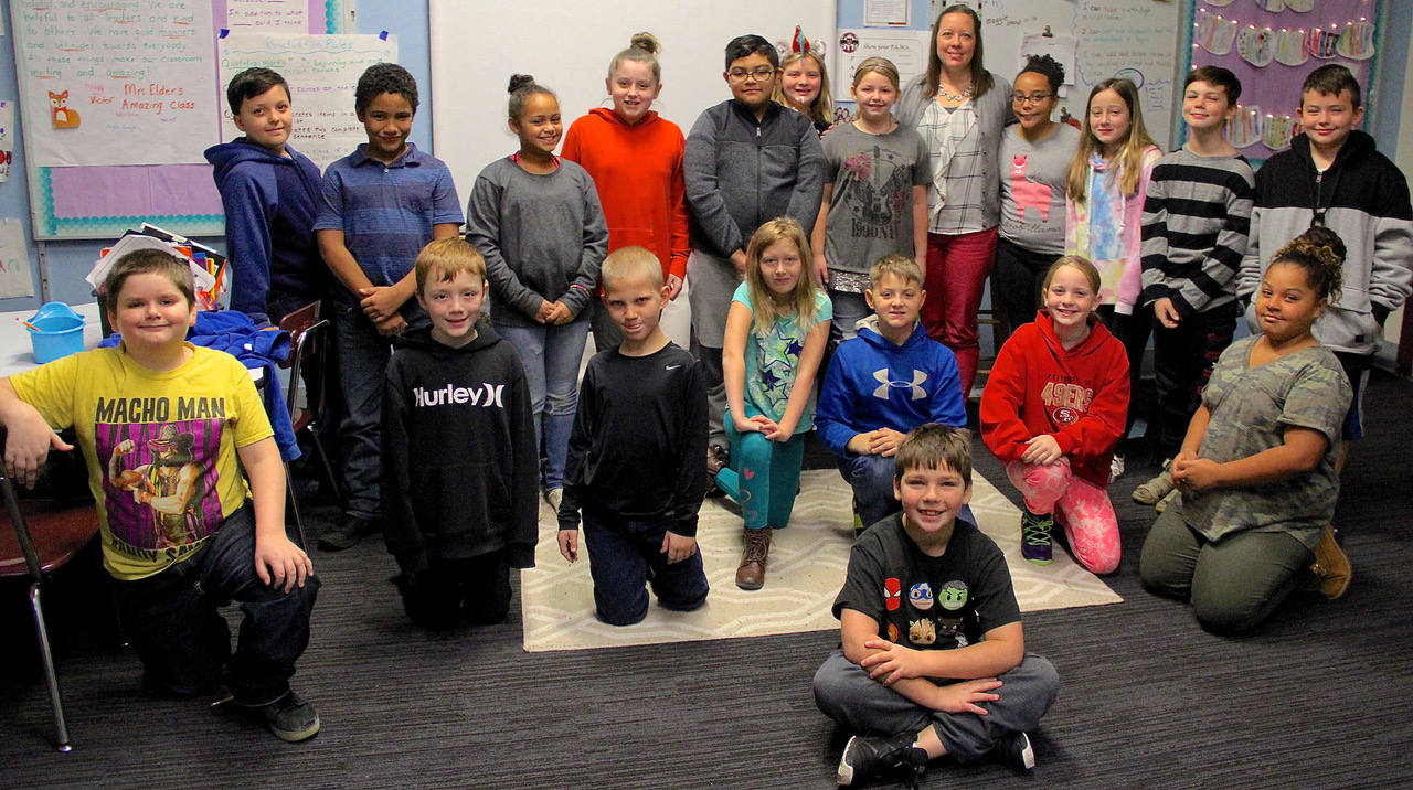 Kelley Fifth Graders show new student extra kindness