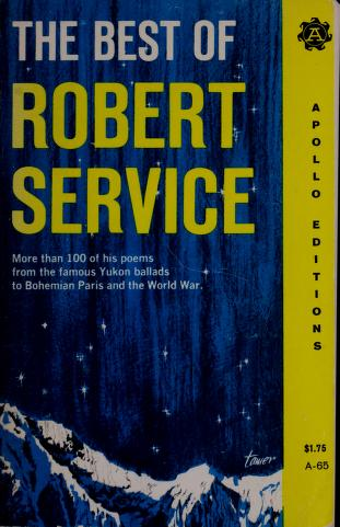 Cover of: The best of Robert Service. | Robert W. Service