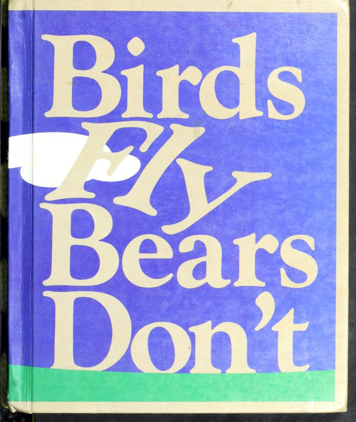 Birds Fly Bears Don't by Theodore Clymer