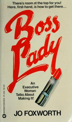 Cover of: Boss lady | Jo Foxworth