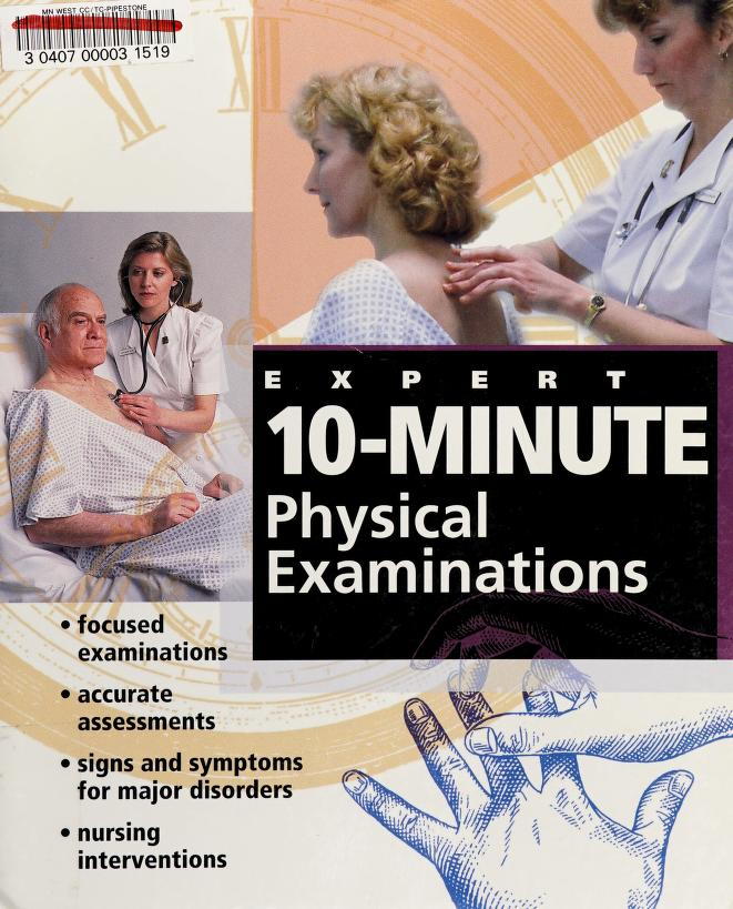 Expert 10-minute physical examinations by