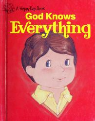 Cover of: God Knows Everything/3485 (Happy Day Books) | Elaine Watson