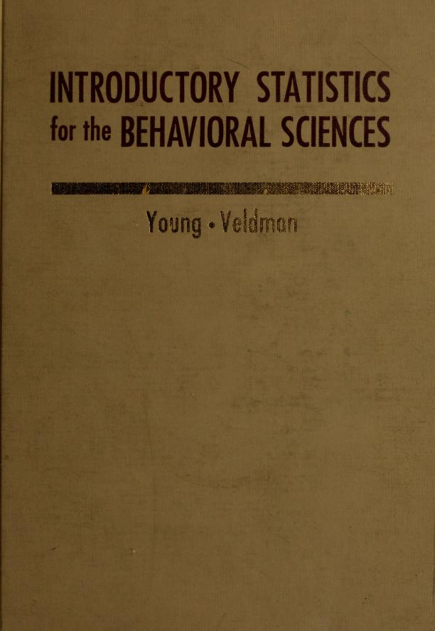 Introductory statistics for the behavioral sciences by Robert K. Young