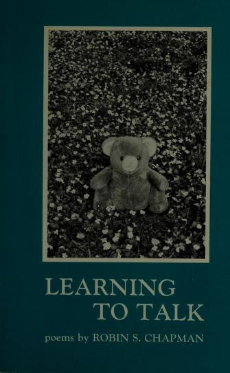 Cover of: Learning to Talk by Robin S. Chapman