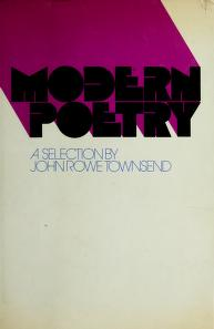 Cover of: Modern poetry: a selection. | John Rowe Townsend