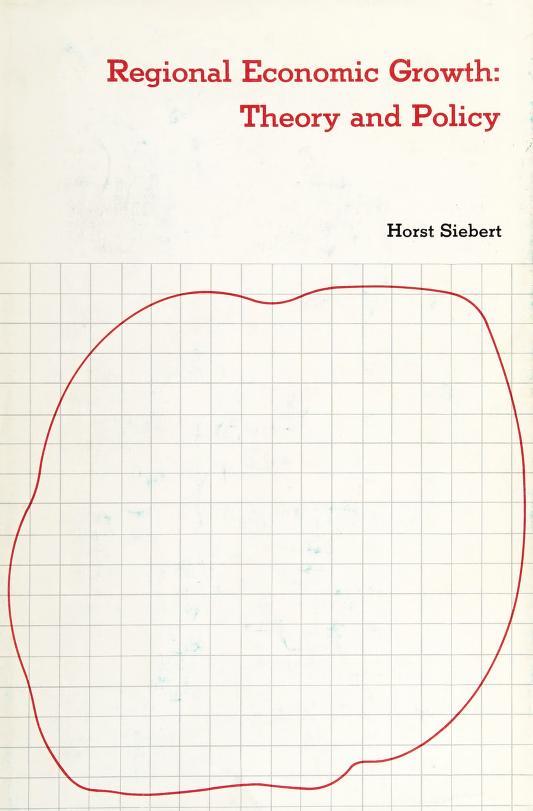 Regional economic growth by Siebert, Horst