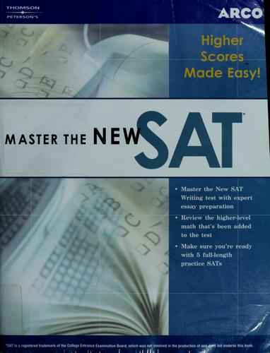 Master the new SAT by Phil Pine